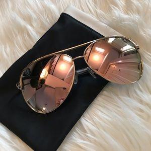 Quay Australia Vivienne Mirrored Sunglasses